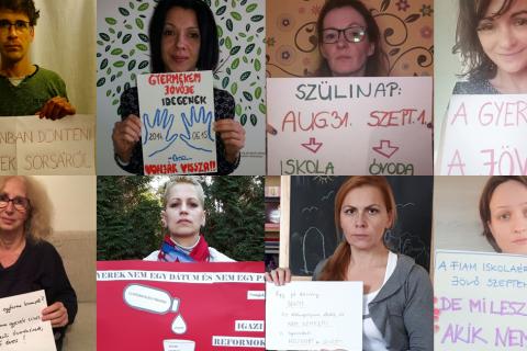 Cselekedjünk közösen a kötelező hat éves beiskoláztatás ellen!